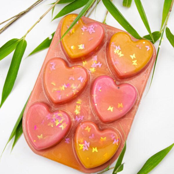 pink grapefruit & vanilla wax melt