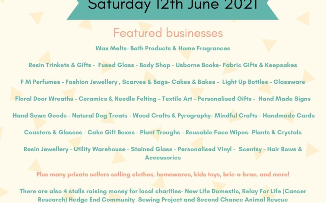Wax Melt & Home Fragrance Pop Up Stall in Southampton