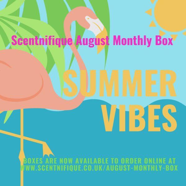 August wax melt monthly box