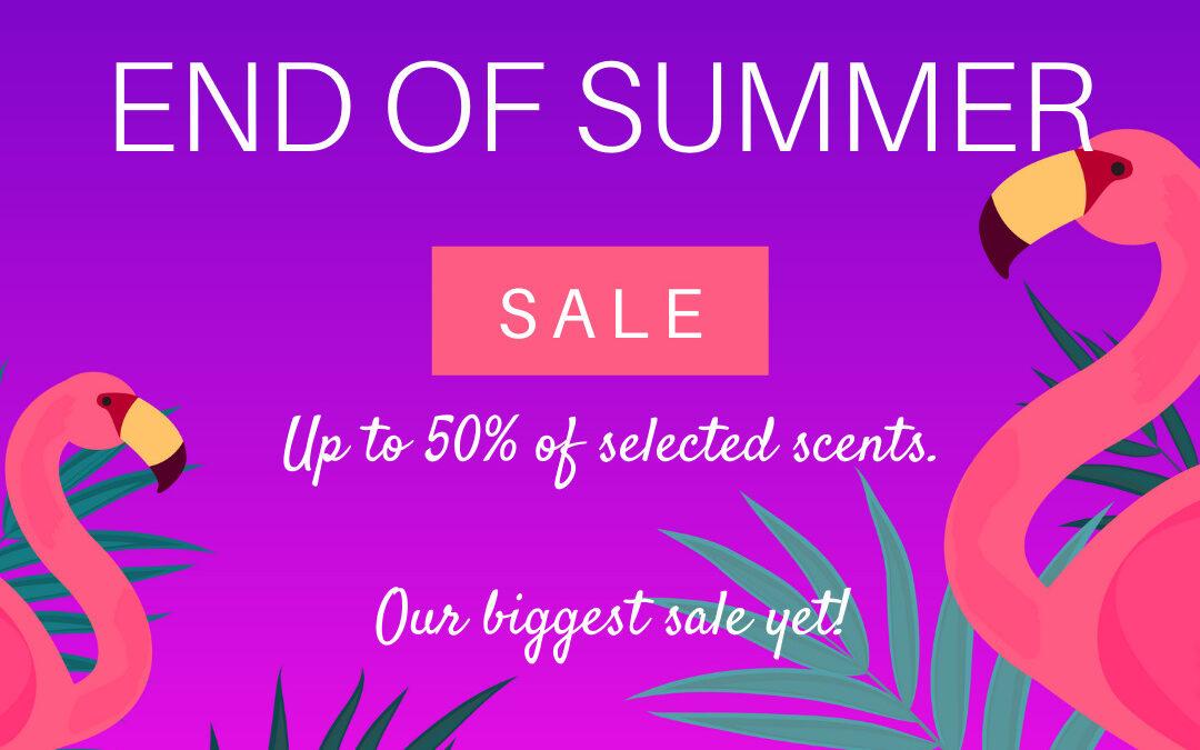 wax melts summer sale